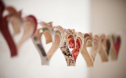 DIY - Srdce na provázku