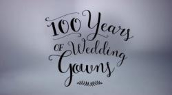Svatební šaty za posledních 100 let